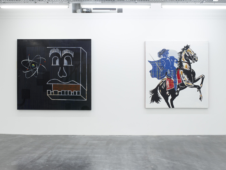 Walter Swennen, Aton, 1998 and Super blaue reiter, 1998