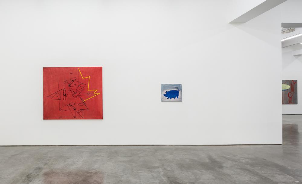Walter Swennen, Installation view
